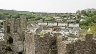 Laugharne and the castle