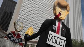 протести проти заяв Трампа щодо подій у Шарлотсвіллі