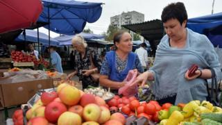 Рынок в Москве