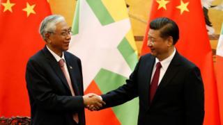 China, Burma