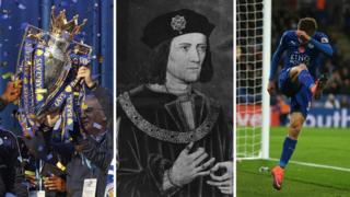 Premier League trophy, Richard III and Jamie Vardy