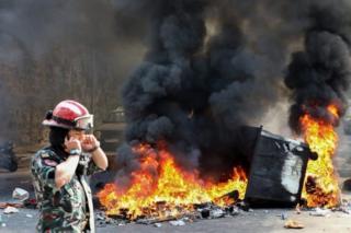 اعتراضات بیروت