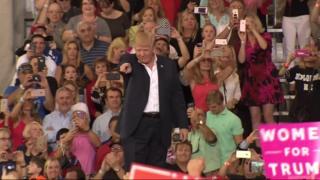 Trump at Melbourne rally - 18 Feb 2017