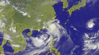 尼莎與海棠兩個颱風在上周周末接連侵襲台灣