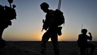 Tropas britânicas no Afeganistão em 2013