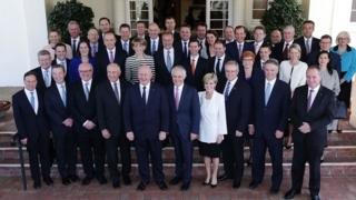 Malcolm Turnbull's cabinet in 2016