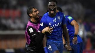 غوميز سجل هدف الفوز للهلال