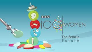 100 women logo / the future