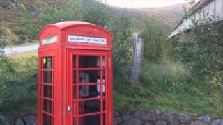 phone box cairngorm