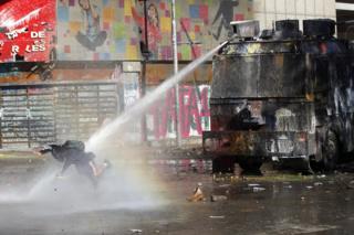 پلیس ضد شورش شیلی