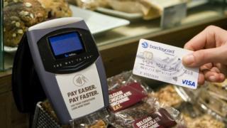 contactless payment card and terminal