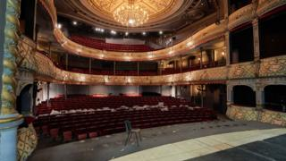 The Old Vic in central London
