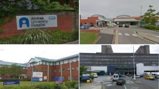 Merseyside hospitals