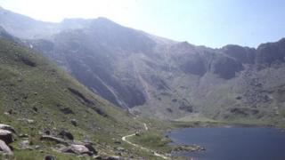 Cwm Idwal in Snowdonia