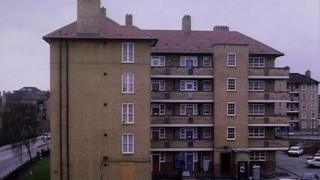 Flats council tower block houses