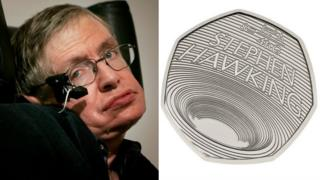 Stephen Hawking and the 50p coin