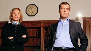 Тимакова и Медведев