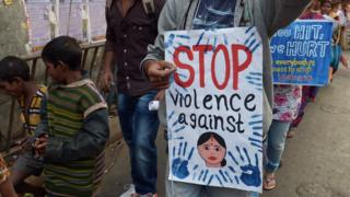 There have been public protests and an outcry against sexual violence in India