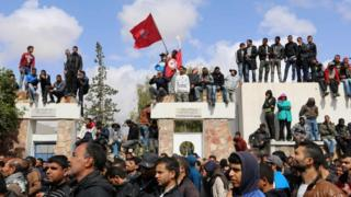 احتجاجات في تطاوين