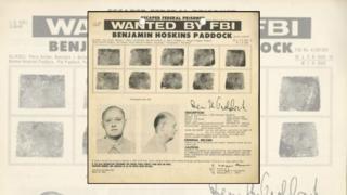 Boletim do FBI sobre Benjamin Paddock
