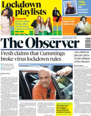ai marketing 5g smartphones nanotechnology developments The Observer front page 24 May