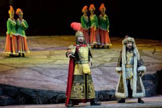 """""""Манас"""" эпосу боюнча опера"""