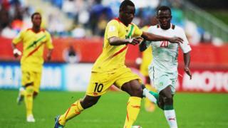 Le Sénégal et le Mali en 2015 lors de la coupe du monde FIFA des moins de 20 ans en Nouvelle Zélande