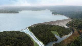 Imagen de la represa