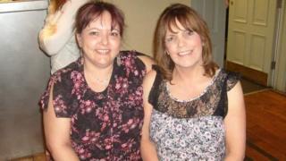 Debbie (left) and Elaine (right)