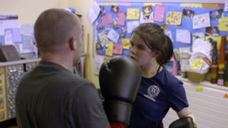 Rebecca wants to be a mixed martial arts champion