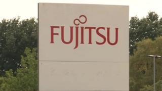 Fujitsu sign