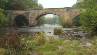Bridge over the River Dee