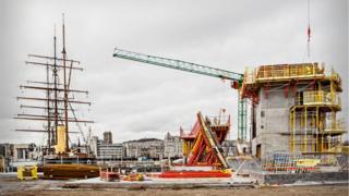 V&A construction