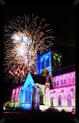 Fireworks in Paisley