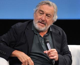 Robert De Niro pictured at the Sarajevo Film Festival on August 13, 2016.