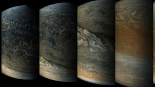 Pictures from the Juno spacecraft