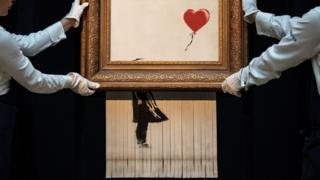 Love is in the Bin, Banksy
