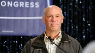 US House of Representatives-elect Greg Gianforte.