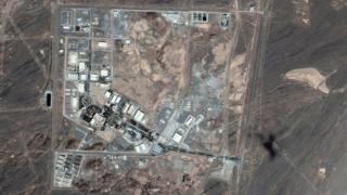 عکس ماهوارهای از تاسیسات نطنز در تاریخ ۱۲ ژوئن