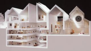 Plans for Dorset County Museum