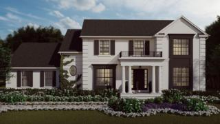 Uma representação da aparência da casa de Rumson pronta