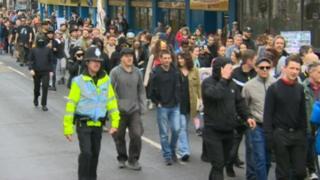 Brighton march
