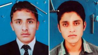 Faisal Hussain Awan (R) and Ahsan Khurshid (L)