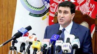 شهزاد آریوبی، وزیر مخابرات و تکنولوژی افغانستان