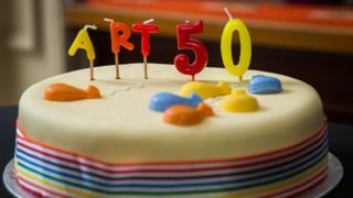 """торт со свечками """"статья 50"""""""