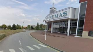 Site of old Showcase Cinema on Kingsbury Road, Erdington, Birmingham