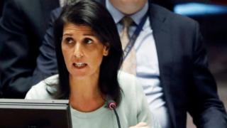 Хейлі підкреслила, що Вашингтон як і раніше вважає Крим частиною України