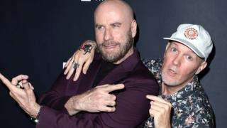 John Travolta and Fred Durst