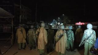 Igipolisi mu karere ka Kondele mu gisagara ca Kisumu
