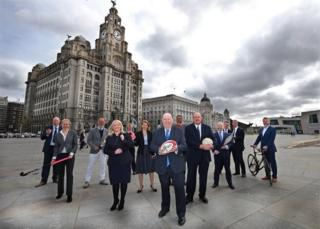 Liverpool Commonwealth Games bid team